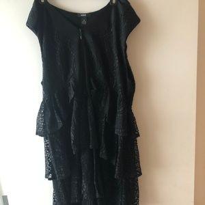 Alfani Black Lacy Dress